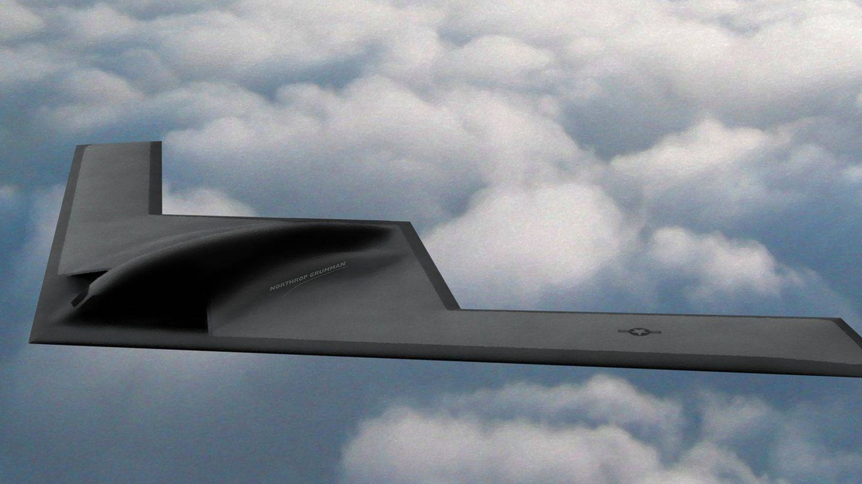 Imagen del futuro B-21 Raider. (Foto: U.S. Air Force)