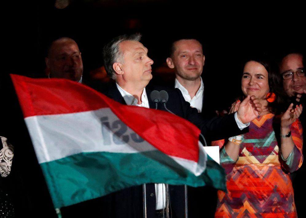 Foto: Viktor Orbán celebra el resultado de las elecciones en Budapest, Hungría. (Reuters)
