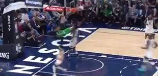 Post de La brutal caída de Jaylen Brown al hacer un mate que heló el corazón en la NBA