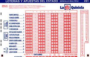 La Quiniela modifica el pleno al 15: se deberá acertar el número de goles