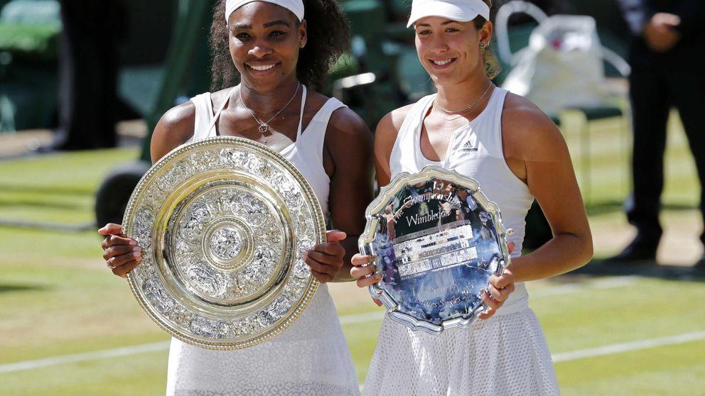Garbiñe da guerra, pero Serena se lleva la batalla de Wimbledon