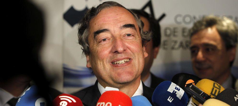 Foto: El presidente de la CEOE, Juan Rosell (EFE)