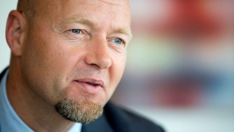 Foto: Yngve slyngstad, CEO de Norges Bank