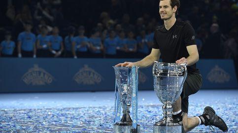 Murray se asienta en el trono del tenis mundial y Djokovic se postra ante él