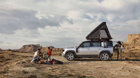Land Rover incluye una tienda de campaña para su coche aventurero (y no es barata)