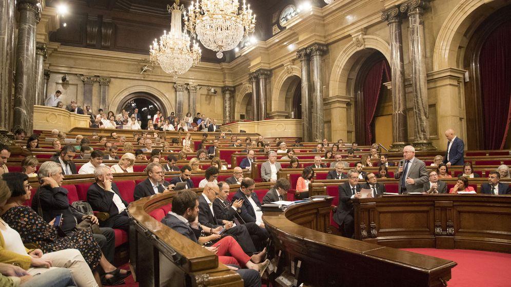 Foto: Pleno del Parlament de Cataluña el pasado mes de septiembre. (Efe)