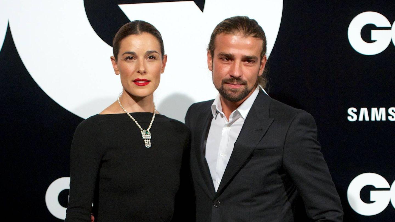 Mario Biondo y Raquel Sánchez Silva, en una entrega de premios en 2012. (Getty)