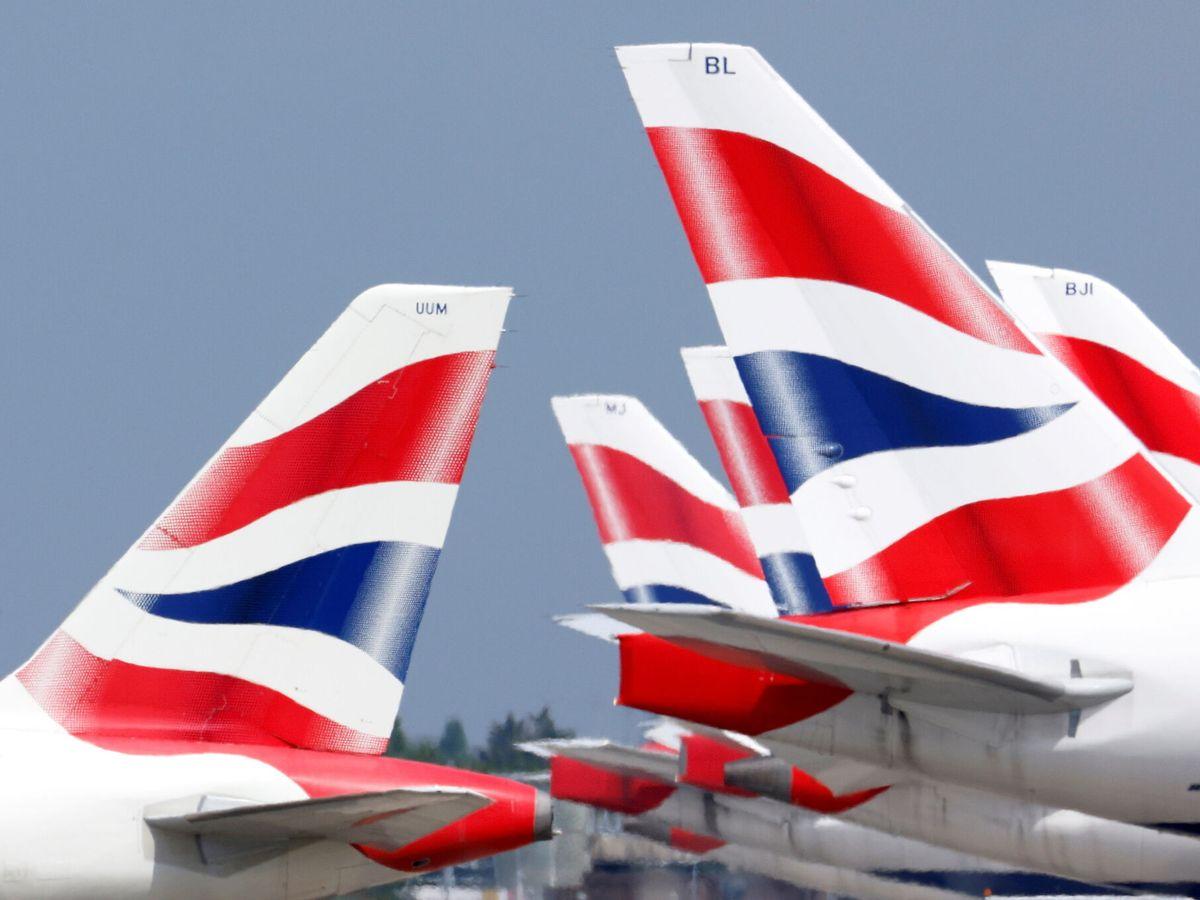 Foto: Aviones de British Airways (Reuters)