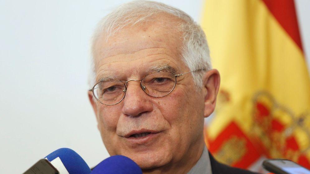 Foto: Josep Borrell. Foto: EFE