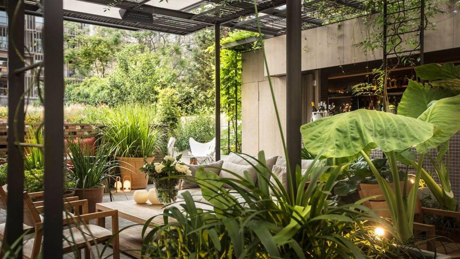Foto: El Patio, en el restaurante Solomillo, un lugar secreto en Barcelona.