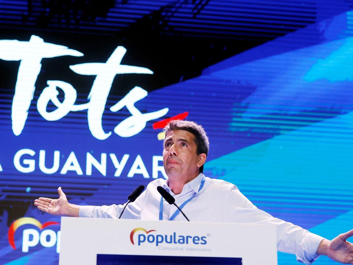 Foto: El presidente de la Diputación de Alicante y candidato a la presidencia del PP CV, Carlos Mazón. (EFE)