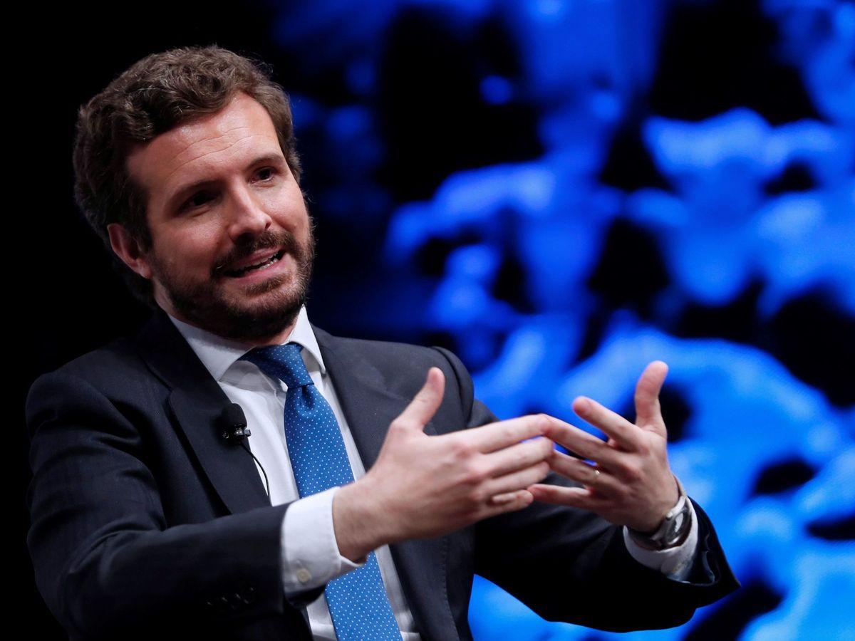 Foto: El presidente de PP, Pablo Casado. (EFE)