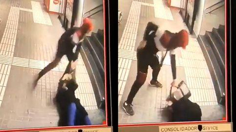 Brutal paliza a una mujer en el metro de Barcelona para robarle el bolso