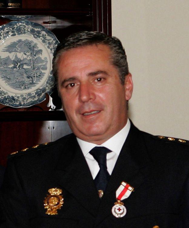 Foto: El comisario Carlos Salamanca, exresponsable de la Comisaría del aeropuerto de Barajas. (EFE)