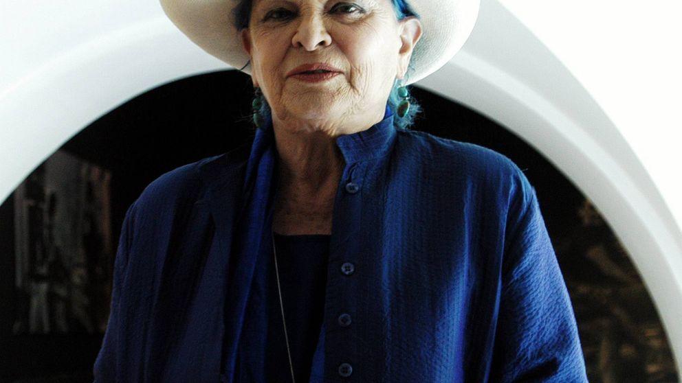 Lucía Bosé, la 'mamma' de pelo azul que hablaba con los ángeles