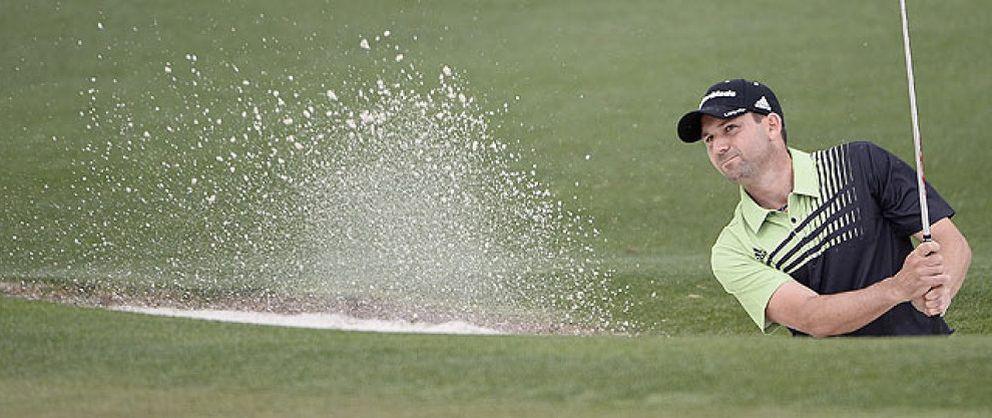 El Masters de Augusta comienza con acento español con Sergio García como líder