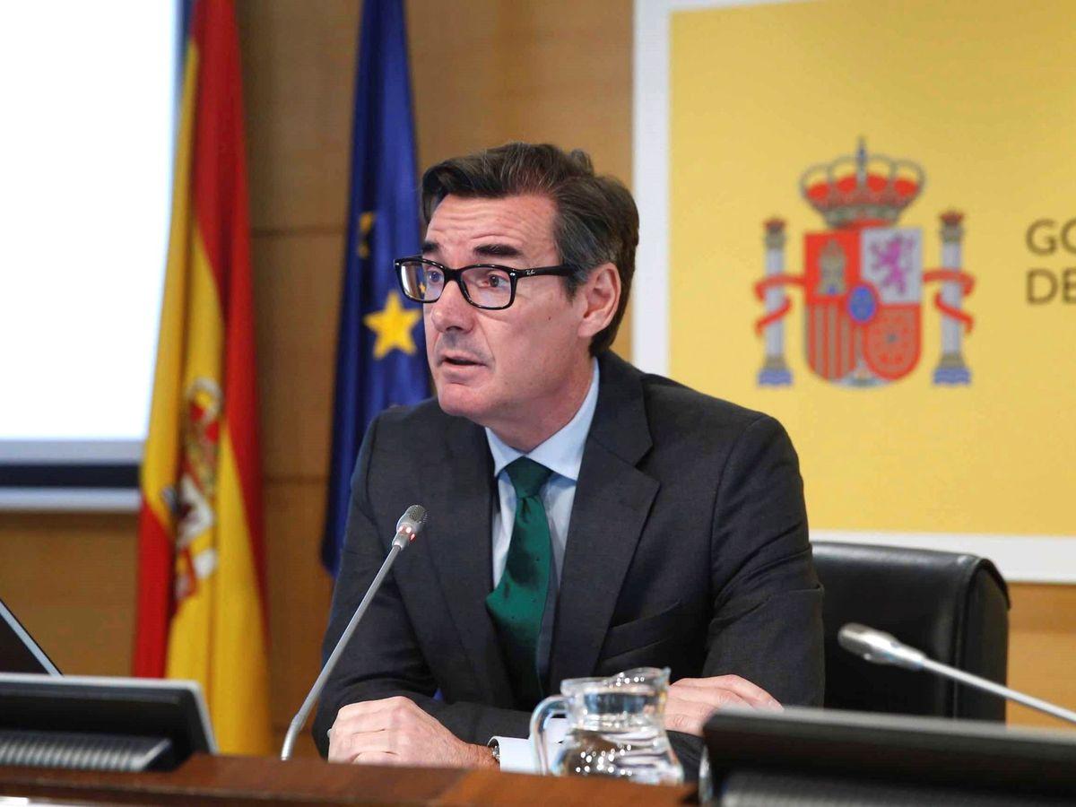 Foto: El secretario general del Tesoro y Financiación Internacional, Carlos San Basilio
