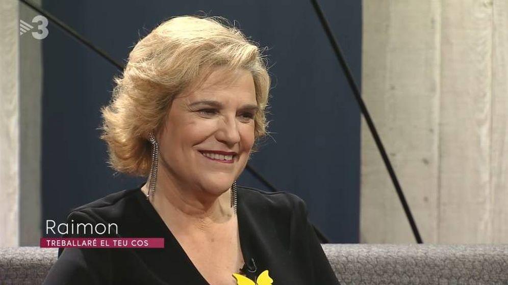 Foto: Pilar Rahola, en 'El divan' de TV3. (CCMA).