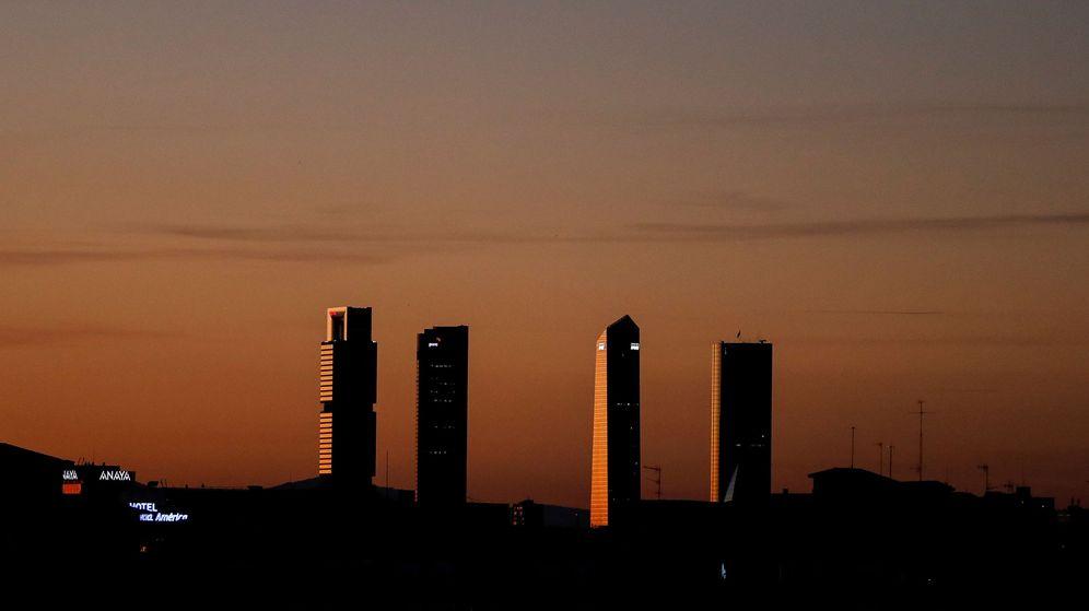 Foto: Las Cuatro Torres de Madrid. (Reuters)