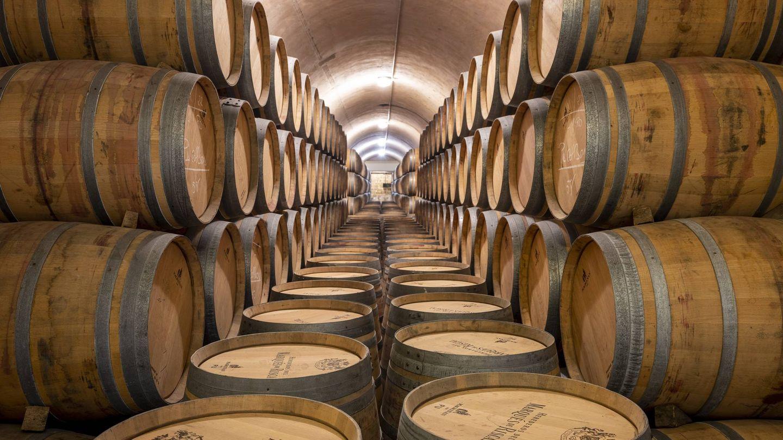 Barricas de vino de Marqués de Riscal.