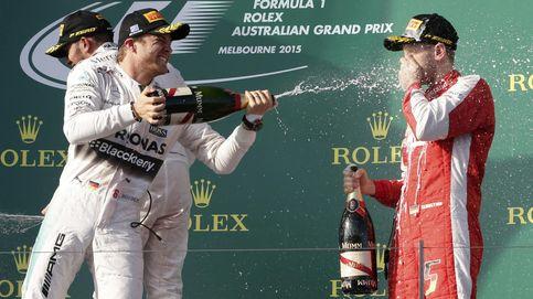 Rosberg espera a Vettel y su libreta para que tome nota de Mercedes