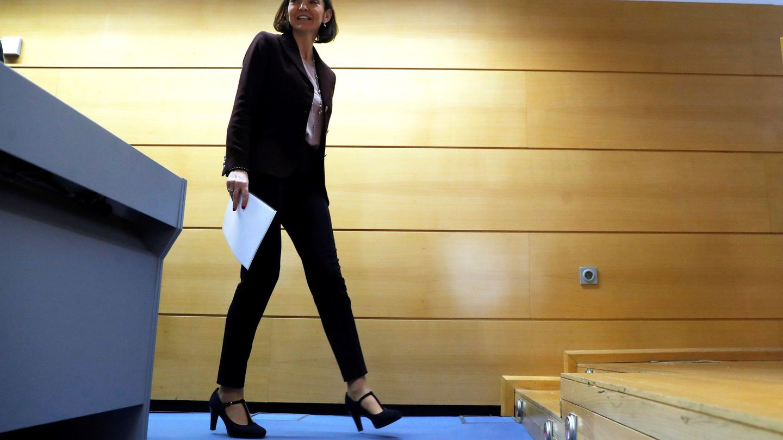 La ministra de Industria, Comercio y Turismo, Reyes Maroto. (EFE)