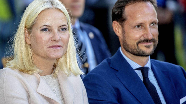Mette-Marit y Haakon, en una imagen de archivo. (Cordon Press)