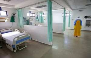 Activado en Sevilla el protocolo antiébola por un caso sospechoso