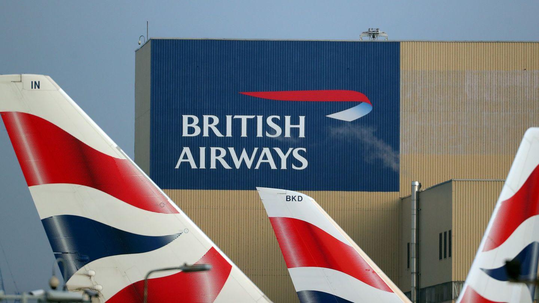 Aviones de British Airways, en el aeropuerto londinense de Heathrow. (Reuters)