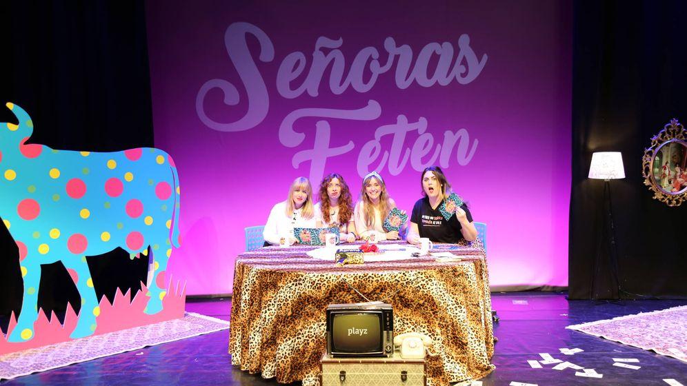 Foto: Moderna de Pueblo, primera invitada de la nueva temporada de 'Señoras fetén' en Playz.