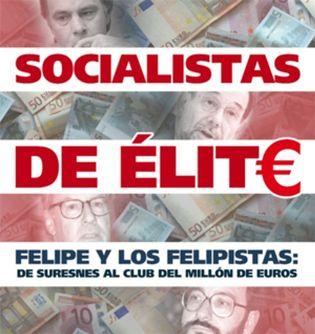 Foto: La lista de propiedades y el sueldo millonario de Felipe González