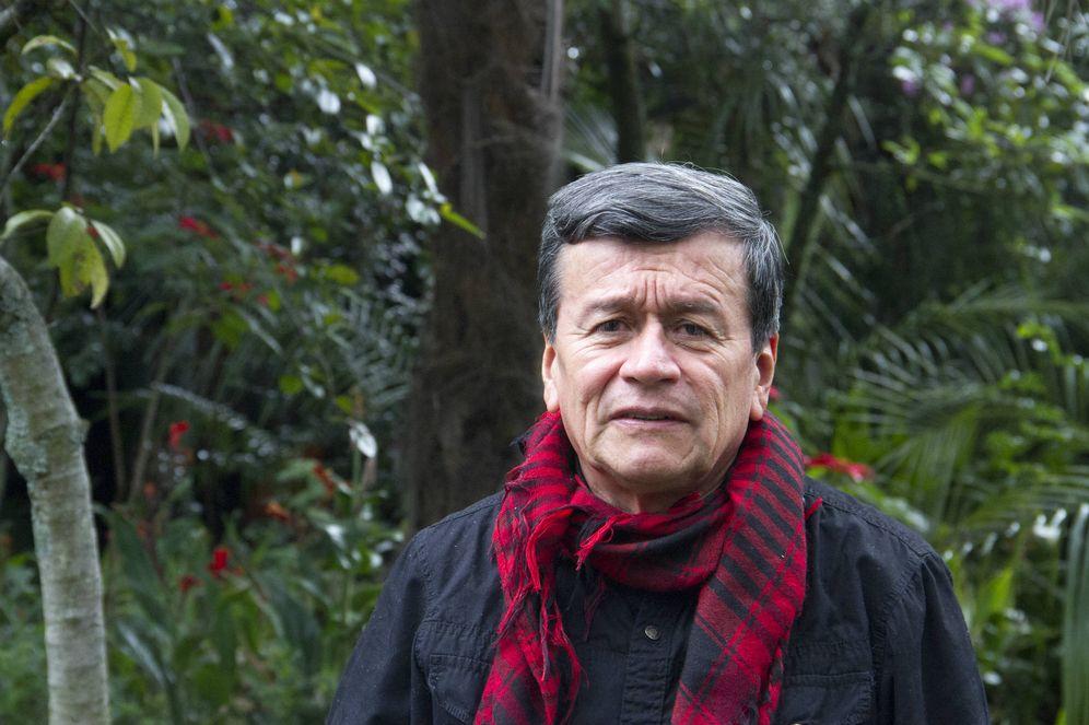 Foto: Israel Ramírez Pineda, alias 'comandante Pablo Beltrán', jefe del equipo negociador del ELN en Ecuador. (H. Estepa)