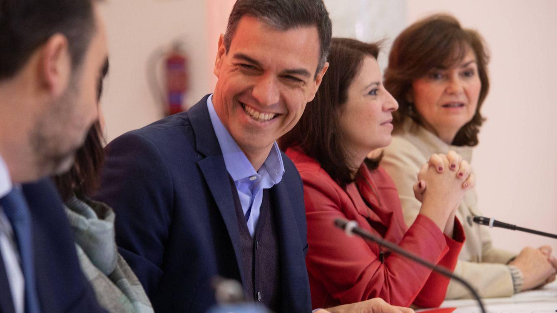 Optimismo en el PSOE por el veto de Cs: ve apuntalada su estrategia de escorar a Rivera