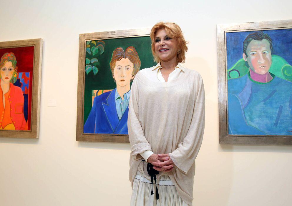 Foto: La baronesa Thyssen, Carmen Cervera, en el Museo Thyssen-Bornemisza de Madrid, en una imagen de archivo