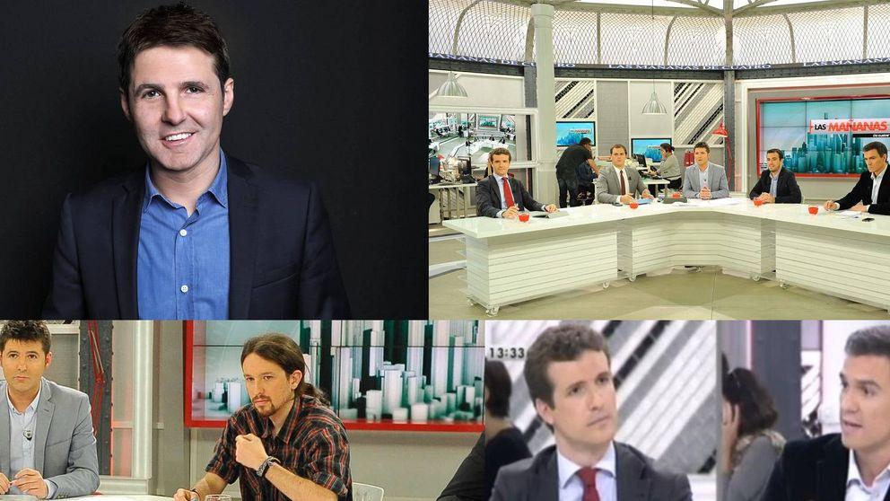 Hablamos con Jesús Cintora, el presentador con más olfato político