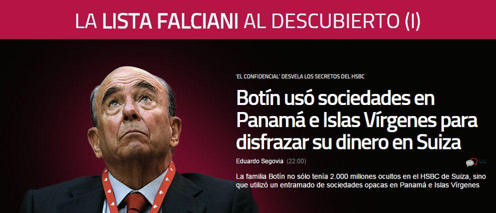 Foto: El especial sobre la Lista Falciani con el que abrió El Confidencial