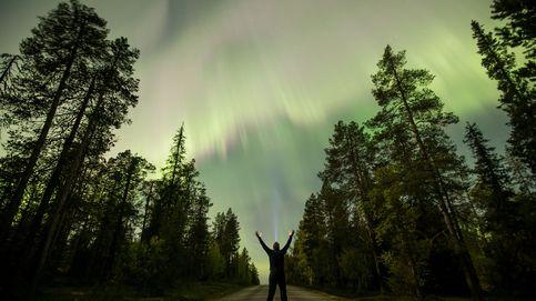El Sena desbordado y la aurora boreal: el día en fotos