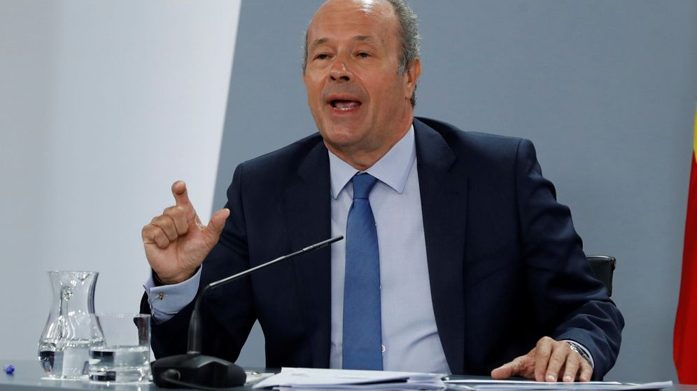 Foto: El ministro de Justicia, Juan Carlos Campos. (EFE)