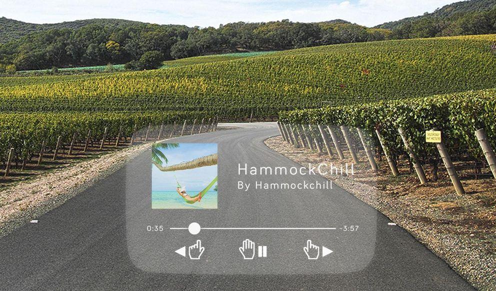 Foto: Una pantalla te permitirá 'tuitear' mientras conduces