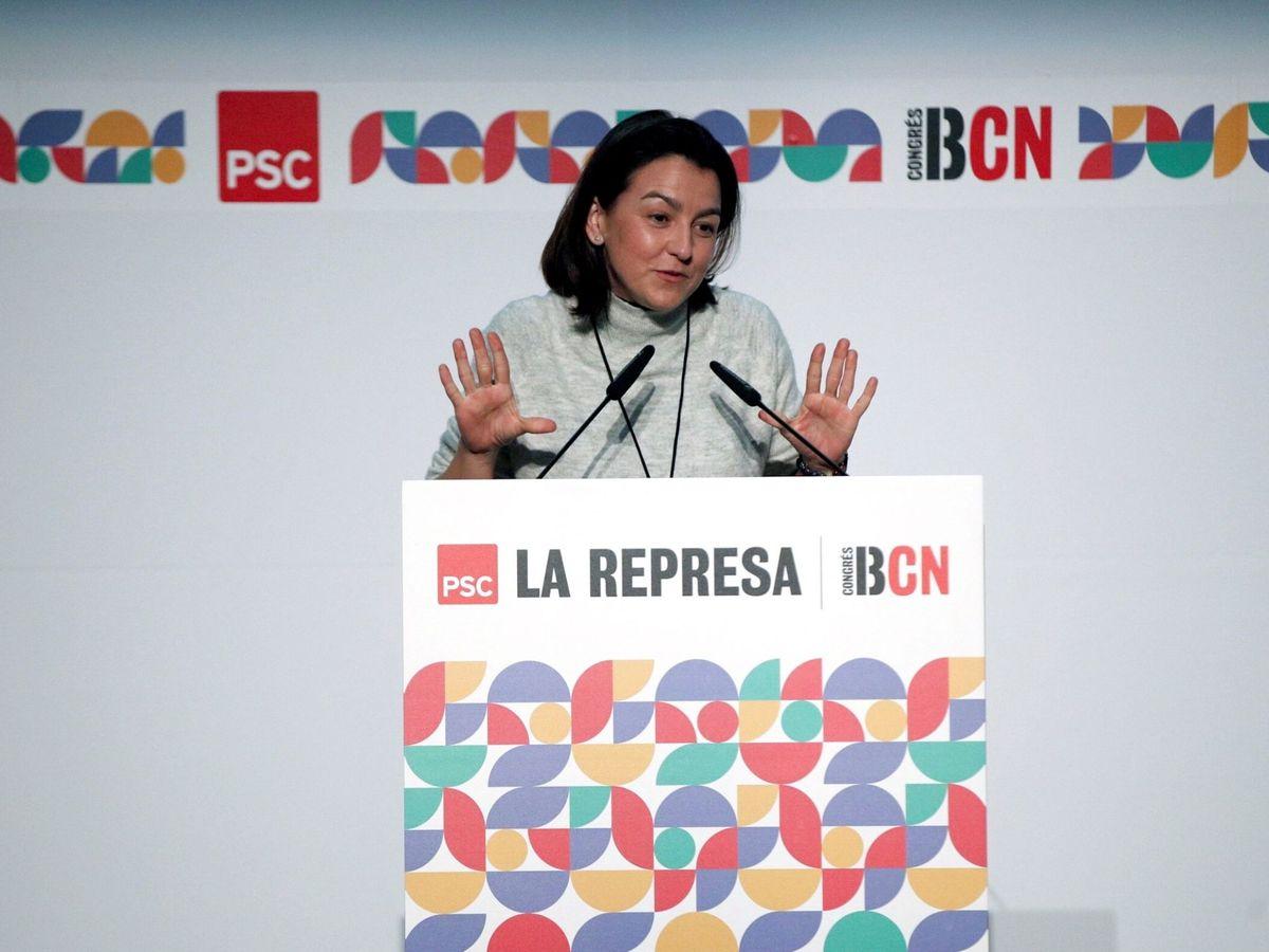Foto: La portavoz de los socialistas en el Parlament, Eva Granados. (EFE)