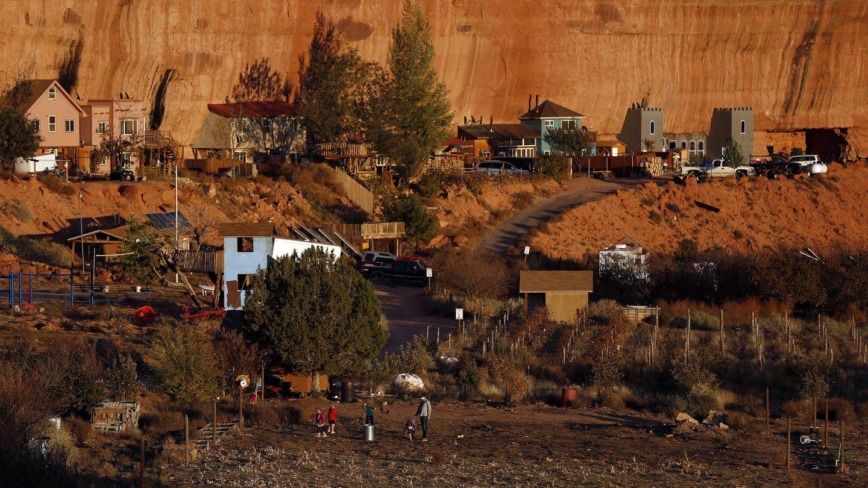 Imagen de la comunidad polígama de Rockland Ranch, a las afueras de Moab, Utah. (Reuters)