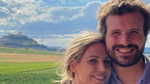 El fin de semana 'non stop' de Pablo Casado y su mujer: adrenalina y escapada entre viñedos