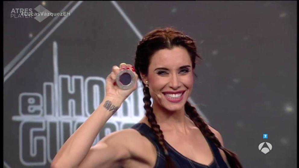 Pilar Rubio sorprende en 'El hormiguero' con las figuras de un yoyó acrobático