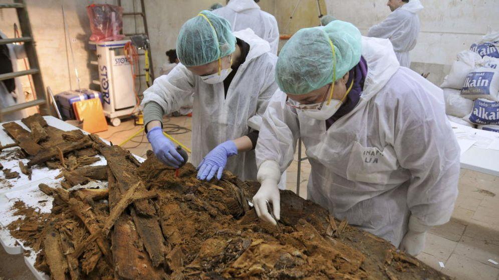 Foto: No hay una confirmación científica del hallazgo de los restos de Miguel de Cervantes (EFE)