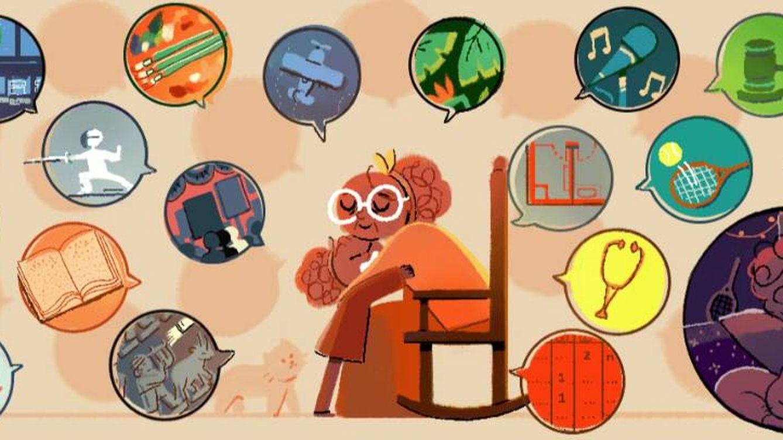 El 'doodle' del Día Internacional de la Mujer homenajea a 13 mujeres: de Kahlo a Ride