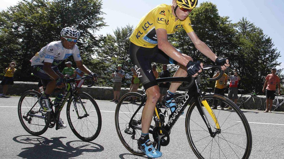 Exhibición de Chris Froome en la primera etapa de montaña del Tour