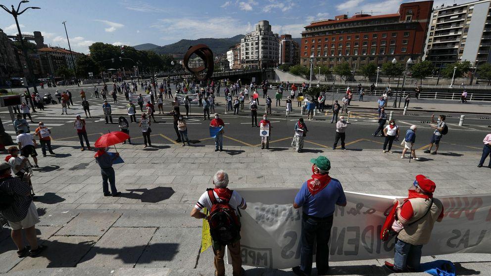 El covid y las elecciones vascas ahondan en la fractura del movimiento de pensionistas