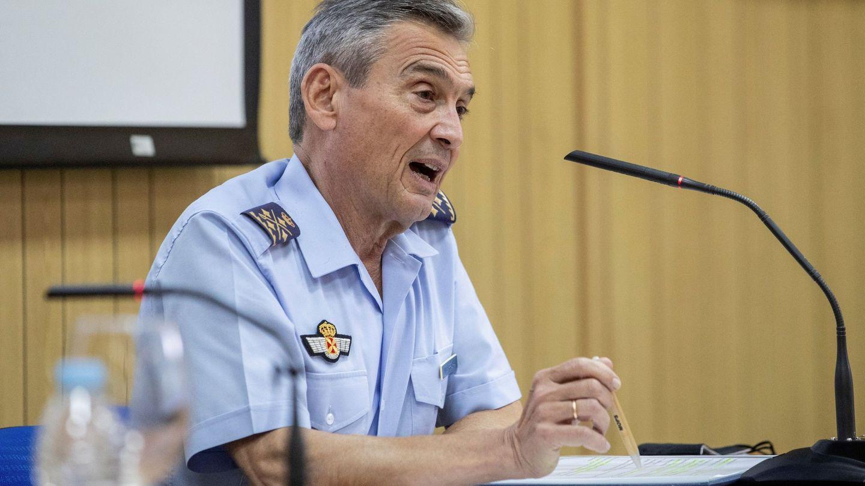 El jefe del Estado Mayor de Defensa, el general Villarroya. (EFE)