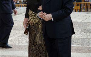 """La viuda de Sabino: """"Mi marido habría aplaudido a los Reyes"""""""