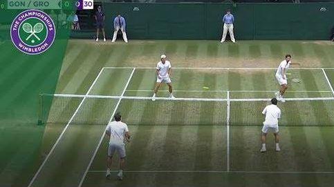 ¿Cómo se juega al tenis con dos bolas? En Wimbledon tienen la respuesta